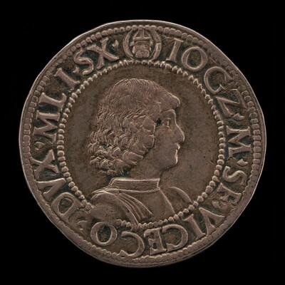 Giangaleazzo Maria Sforza, 1469-1494, 6th Duke of Milan 1476 (obverse)
