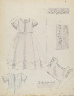 Infant's Dress and Shirt