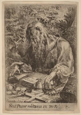 A Hermit Saint
