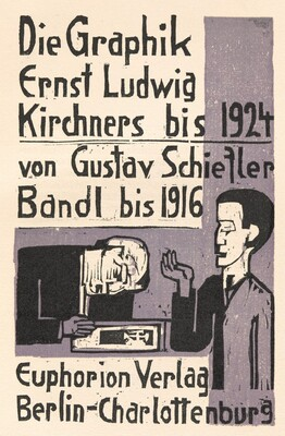 Die Graphik Ernst Ludwig Kirchners bis 1924 von Gustav Schiefler Band I bis 1916  (The Graphic  Art of Ernst Ludwig Kirchner to 1924 by Gustav Schiefler Volume 1 to 1916)