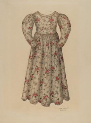 Girl's Chintz Dress