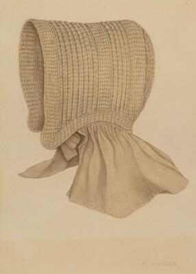 Quaker's Baby Bonnet