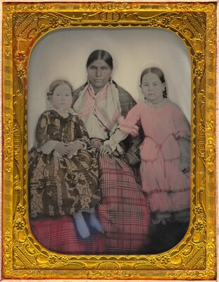 Portrait of a Woman and Two Girls
