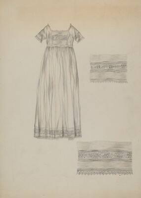 Infant's Baptismal Dress