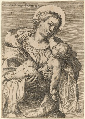 The Madonna and Child with an Apple