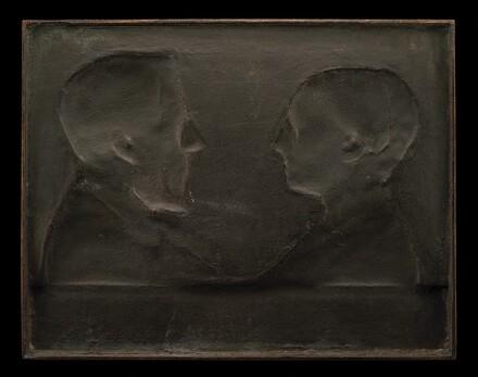Portrait of the Artist's Parents, Marie-Rose-Bonne Delaporte Patey and Jacques-Jérôme-Xavier Patey