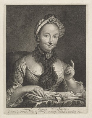 Dorothée Louise Viedebandt (The Artist's Wife)