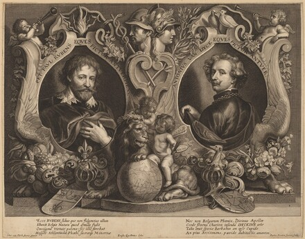 Rubens and van Dyck, a Double Portrait