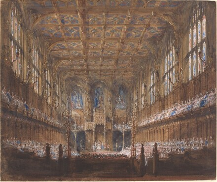 The State Opening of Parliament in the Rebuilt House of Lords