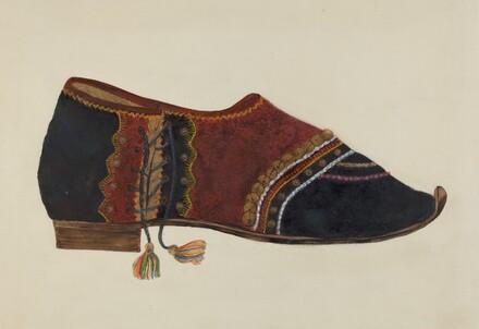 Man's Dancing Shoe