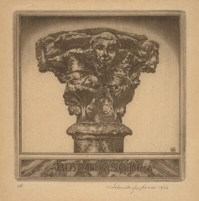 Portrait of a Romanesque Capital