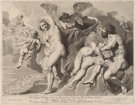 Ixion Deceived by Juno