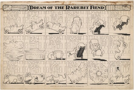 Dream of the Rarebit Fiend: Bucking Automobile