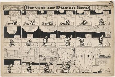 Dream of the Rarebit Fiend: Here Comes Washington