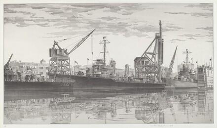 Destroyers in Wet Basin