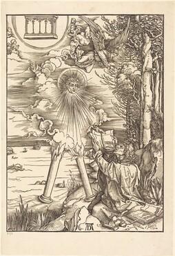 Saint John Devouring the Book