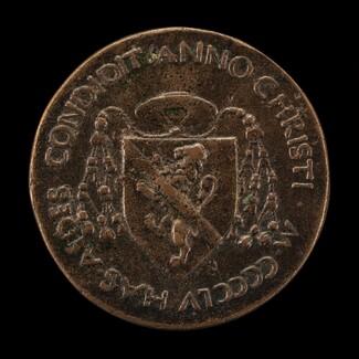 Arms of Cardinal Barbo [reverse]