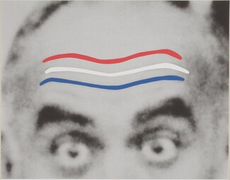 Raised Eyebrows / Furrowed Foreheads (Red, White and Blue)