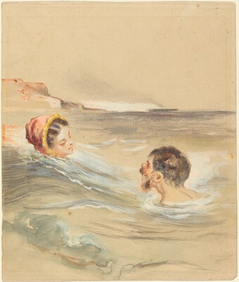 Male and Female Bathers