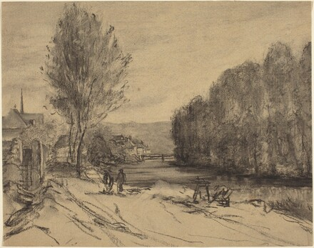 A Landscape with a River