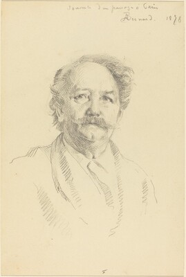 Portrait of a Man (Souvenir d'un Passage à Paris)