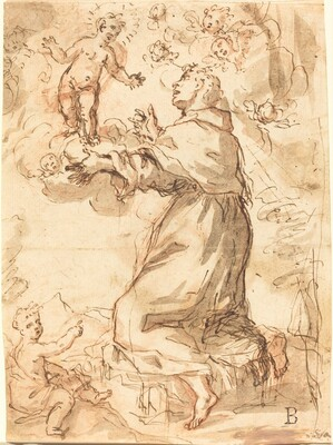 The Christ Child Appearing to Saint Francis