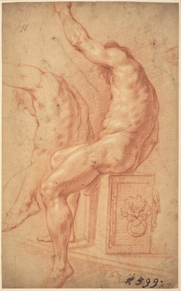 A Seated Nude