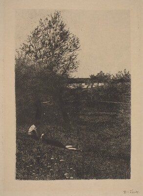 Meadow with Children