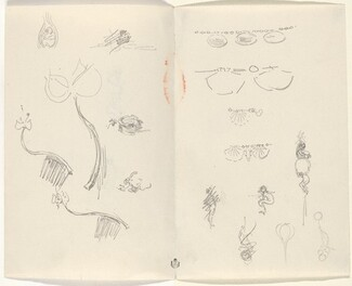 Studies for Jewelry Designs [verso]