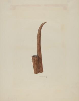 Corn-cob Pipe