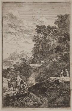 Landscapes in the Manner of Salvator Rosa