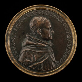 Giancarlo Rossetti, 1712-1793, Carmelite Preacher Padre Marco di San Francesco [obverse]