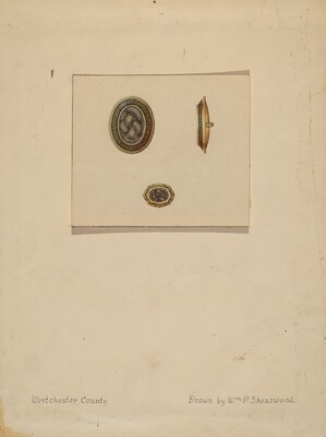 Hair Brooch and Ring