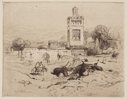 Ruins of a Mosque, Tlemciem, Algeria