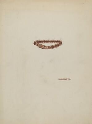 Woven Hair Bracelet