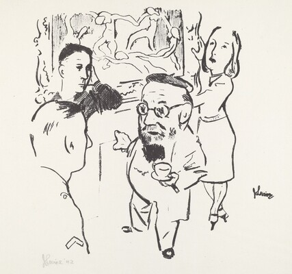Matisse and U.S. Servicemen