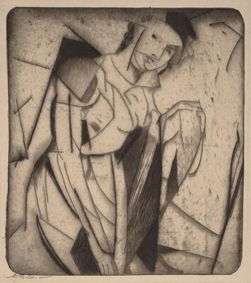 Figure in Glass