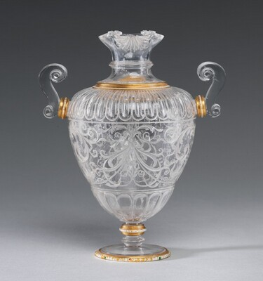 Vase with Two Handles