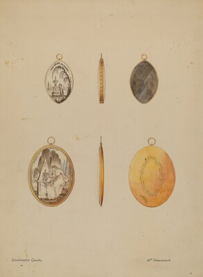 Mourning Pendants