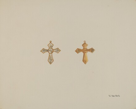 Cross-shaped Pin