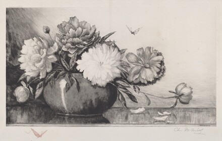 Untitled (Peonies in a Bowl)