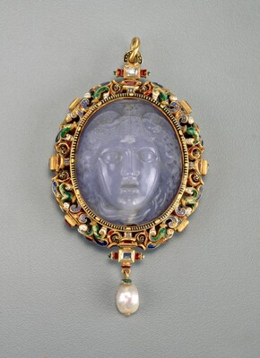 Pendant with the Head of Medusa