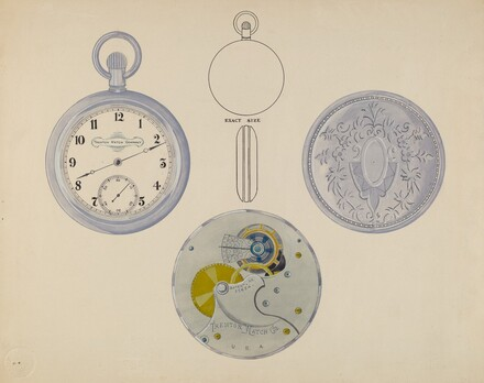 Watch, Dial and Frame