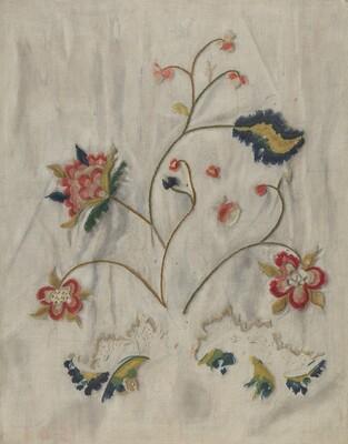 Bedspread (Detail)