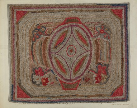 Hooked Rug (Cotton)