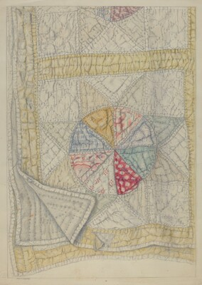 Pieced Quilt - Star Pattern