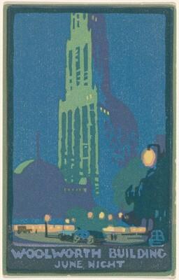 Woolworth Building June Night