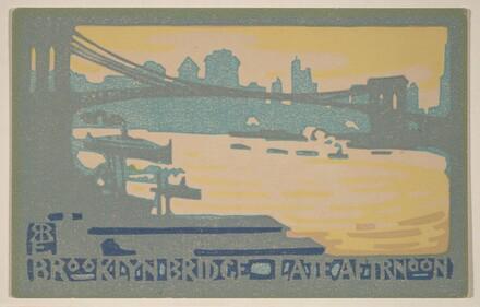 Brooklyn Bridge Late Afternoon