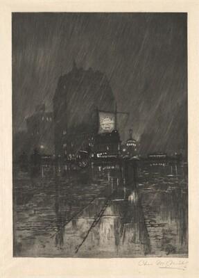 A Rainy Night, Madison Square