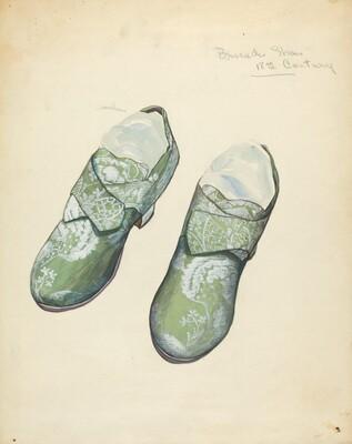Brocade Shoes